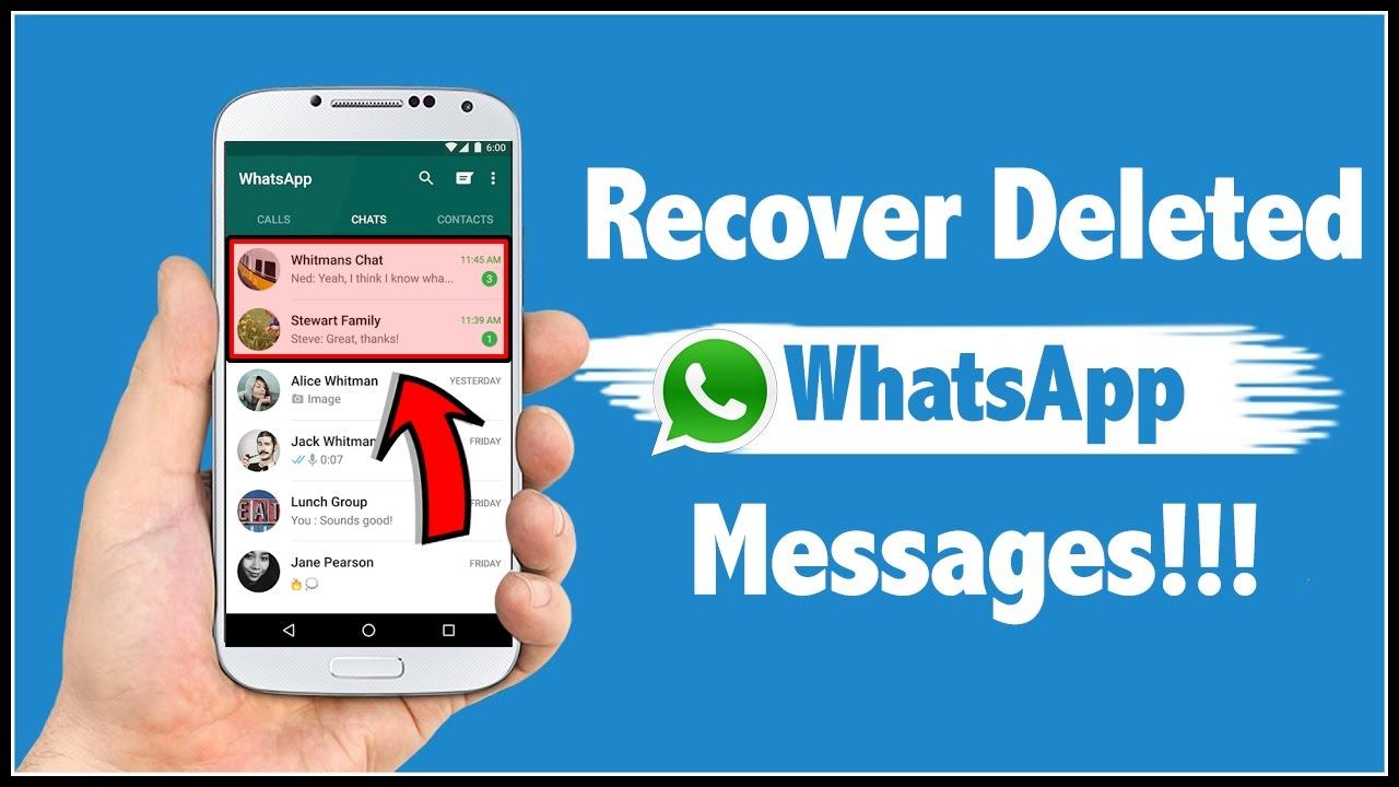 व्हाट्सएप पर डिलीट किए गए मैसेज को कैसे पढ़ें